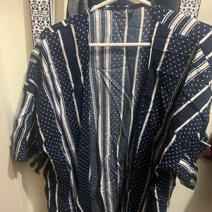 Soft cotton/linen material cover up